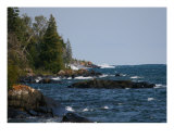 Isle Royale Shoreline Photographic Print by Walter Graff