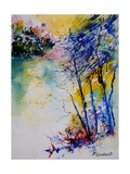 Watercolor 90204 Giclee Print by Ledent