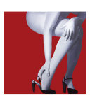 Red Nude Giclee Print by Megan Buccere