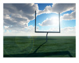 American Football Goal 2 Photographic Print by Chris Harvey