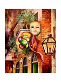 Mardi Gras Night Giclee Print by Diane Millsap