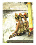 Bali Festival Photographic Print by Jennifer Bowden
