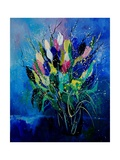 Tulips 45 Giclee Print by  Ledent