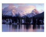 Molas Lake Alpenglow Photographic Print by Sara Bombaci
