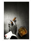 Poker Noir Photographic Print by Alex Bramwell