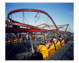 Meteor Roller Coaster, Wildwood, New Jersey 1967 Photographic Print by Eric Bard