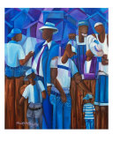 A Family Of Men Giclee Print by David W M Cassidy