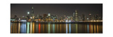 Chicago Skyline Colorful Reflection Photographic Print by Patrick Warneka