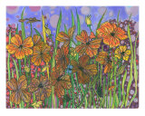 Floral Fantasy Giclee Print by Annette Maggio