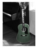 Tinted Guitar Photographic Print by Susan Lipschutz