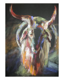 The Goat Giclee Print by Corinne Galla