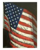 American Pride Giclee Print by Todd Horne