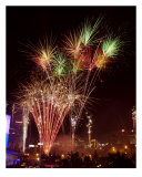 Atlanta Fireworks 1 Photographic Print by James Davidson