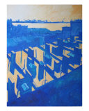 Roofscape Number Fourteen Giclee Print by Jim Maio
