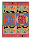 Quilt Of Colors And Shapes Giclee Print by Jerry Schwehm