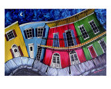 Goodnight New Orleans Gicle-tryk af Derek Patterson