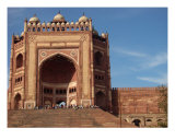 Fateh Pur Sikri 2Nd Tallest Gate On Earth Photographic Print by abbas hasnain