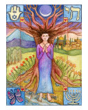Mitzvah - Blessing Giclee Print by Alice Lancefield