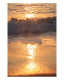 Crashing Wave At Sunrise Photographic Print by Nadine Rippelmeyer