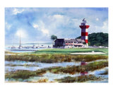 The 18Th At Hilton Head Giclee Print by Ed Barbini