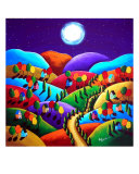 Peace On Earth Giclee Print by Renie Britenbucher