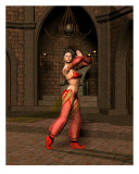 Belly Dancer Revised Photographic Print by John Junek