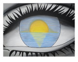 Eye Of An Artist Giclee Print by Tabatha Garrett