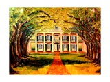 Oak Alley Plantation Giclee Print by Diane Millsap