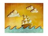 Lullaby Bay Poster por Cindy Thornton