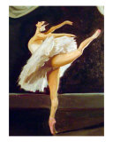 Ballet Dancer Giclee Print by tara benet
