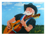 Guitar Man Giclee Print by Anthony Dunphy