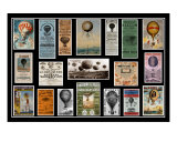 Hot Air Balloon Posters Photographic Print by Andrew Fare