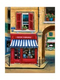 The Little French Book Store Giclee Print by Marilyn Dunlap