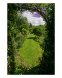 The Path To The Garden Photographic Print by Joe Houghton