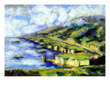 Malibu Looking North Giclee Print by Randy Sprout