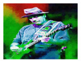 The Guitar Player Photographic Print by Cuitlahuac Meza