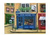 The French High Fashion Pet Shop Giclee Print by Marilyn Dunlap