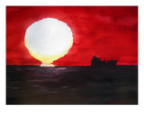 Sundrop Horizon Giclee Print by Lil Taylor