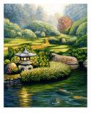 Garden Lantern Giclee Print by Ara Witmer