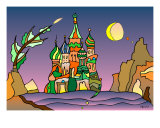 Stbasil - Cathedral In Siberia Giclee Print by Wolfgang Karl