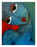 Blue Passion Giclee Print by Thomas Fedro