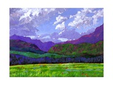 Durango Landscape Giclee Print by Patty Baker