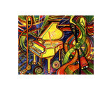 Grand Piano Giclee Print by Leone Ardo