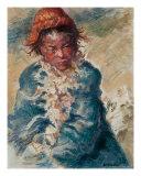 Tibetan Goatherd Giclee Print by Ellen Dreibelbis
