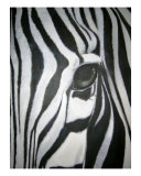 The Zebra Giclee Print by Koree Gilbert