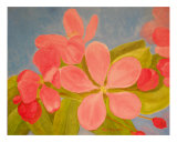 Spring Flowers No 2 Giclee Print by Thi Nguyen