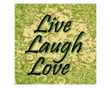 Live, Laugh, Love 3 Photographic Print by Sari Mcnamee