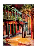 Escape To New Orleans Giclee Print by Diane Millsap