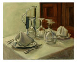 Dinner Table Giclee Print by Sarah Parks