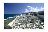 Cemetery, Old San Juan, Puerto Rico Photographic Print by George Oze